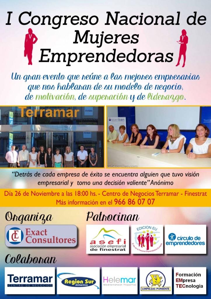 I congreso nacional de mujeres emprendedoras el pr ximo - Centro de negocios en alicante ...
